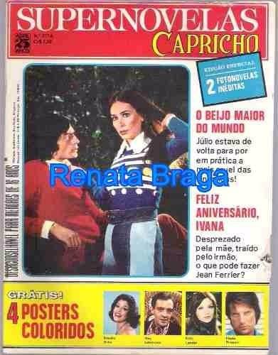 Revista Supernovelas Capricho Nº 377 A