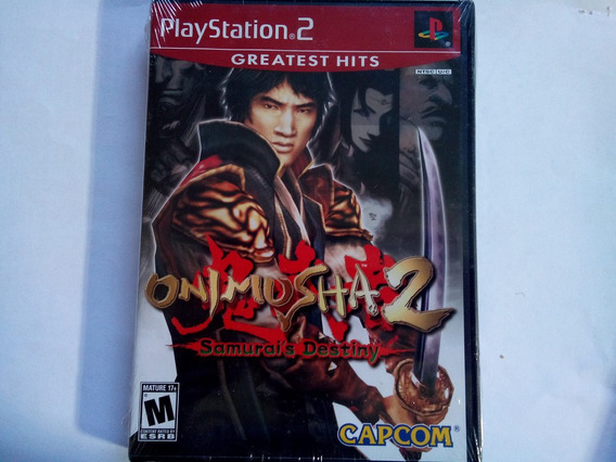 Onimusha 2 Samurai´s Destiny Original Ps2 Lacrado!!!