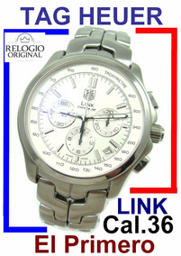 Tag Heuer Link Crono Zenith El Primero - Cal36 Aço Ct511b !