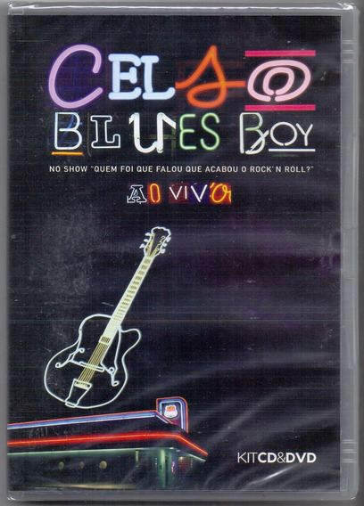 Dvd + Cd Celso Blues Boy - Ao Vivo - Novo***