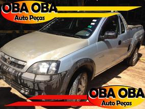 Chevrolet Montana Conquest 1.4 07/08 Sucata P/ Retirar Peças