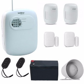 Kit Central Alarme Intelbras Anm 3004 S/fio C-1784 +baterias