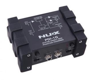 Caja Directa Nux Pdi-1g Para Guitarra Simulador Amplificador