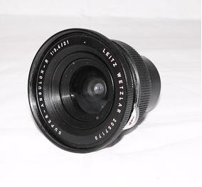 Lente Leica 21mm F/3,4 Super Angulon-r