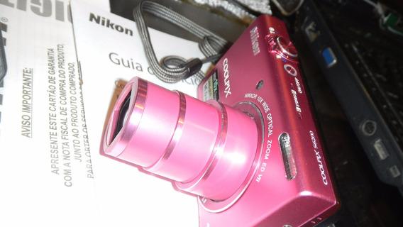 Camera Nikon 16 Mp 10x Zoom S6200