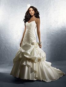 Vestido De Noiva - Branco - 36 - Pronta Entrega - Vn00041