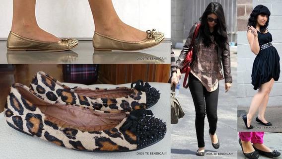 Sam Edelman Beatrix Zapatos Cuero Piel Tachas Negras 35