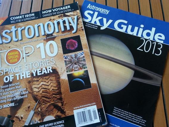 Revista Canadense Astronomy Janeiro 2013 Com Sky Guide