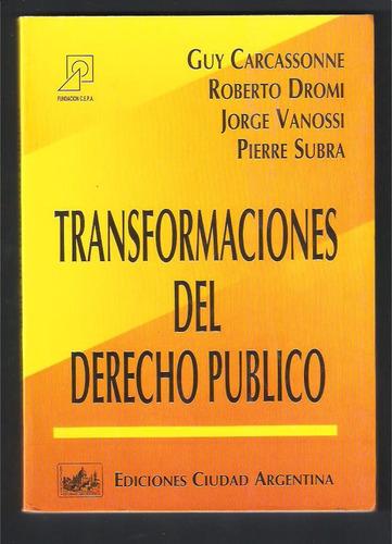 L4160. Transformaciones Del Derecho Público. Carcassonne