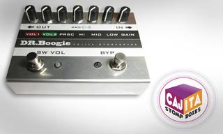 Dr Boogie Distorsion Guitarra Efecto Pedal Cajita Stompboxes