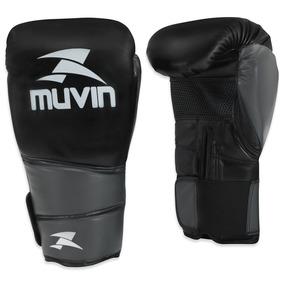 Luva De Boxe Warrior Bx Muvin Lvb-100 - Cor Preto/cinza