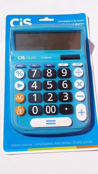 Calculadora De Mesa Ck-225 Az Cis Sertic
