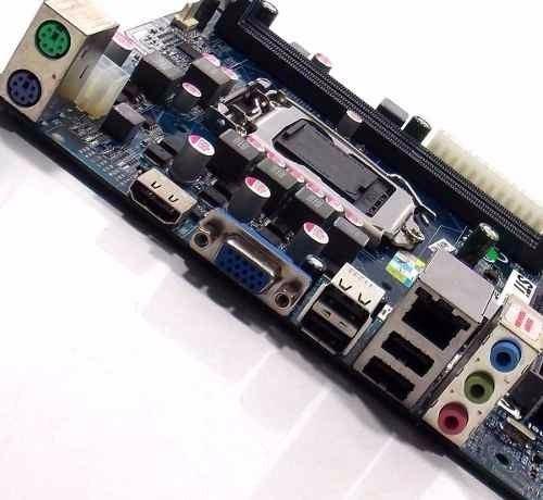 Placa Mãe 1155 Celeron Dual Core I3 I5 Oem Modelos Diversos