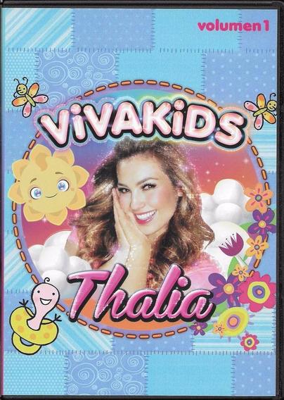 Dvd + Cd Thalia Viva Kids ( Videos Clipes Videoclips )