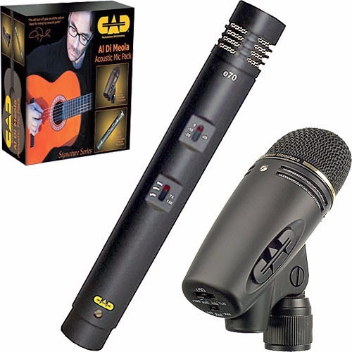 Microfones Gravacao Cad Admp Al Di Meola E60 + E70