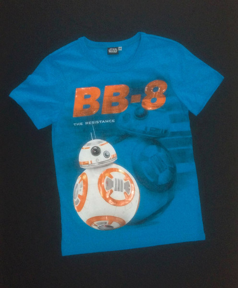 Playera Bb8 Niños Original Star Wars The Force Awakens Droid