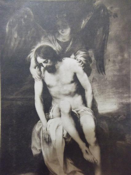 B. Antigo - Raro Cartão Postal Jesus Cristo Defunto 1913