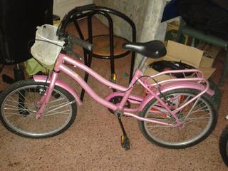 Bicicleta De Niña Rodado 20 Usada En Muy Buen Estado