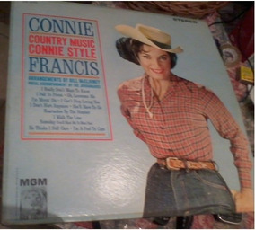 Lp Connie Country Music Connie Style Francis