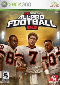 All-pro Football 2k8 / 2008 - Xbox 360 / X360 - Lacrado!