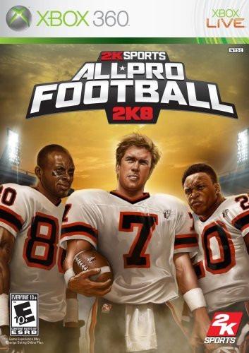 All-pro Football 2k8 / 2008 - Xbox 360 / X360 - Lacrado!