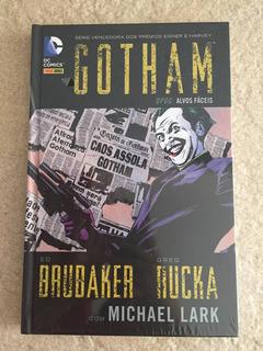 Hq Dc Gotham Dpgc Alvos Fáceis 2 Capa Dura C664