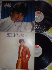 2 Lps Zezé De Camargo, Carreira Solo - 1986 E 1988