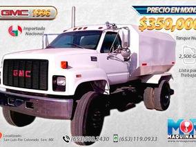 Camion Tanque De Agua 2500 Gls, Gmc 1996 Usado, Camiones