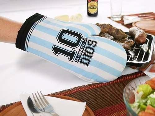Regalo Original Manopla Dios Maradona Selección Argentina