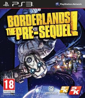 Borderlands The Pre-sequel Ps3, Disco, Nuevo Y Sellado