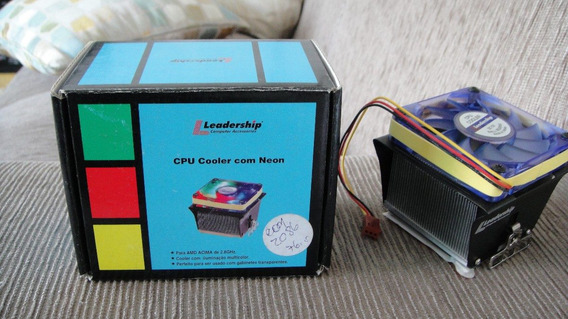 Cpu Cooler Com Neon Amd