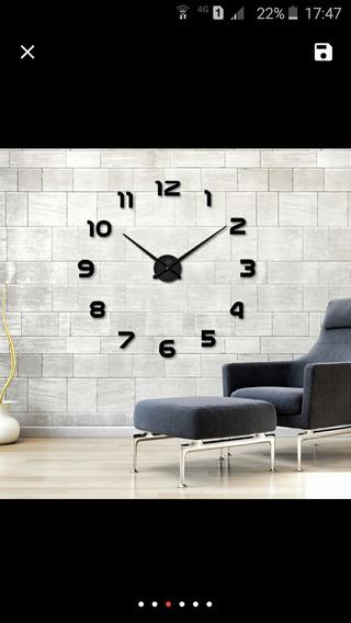 Relógio De Parede(parede Inteira)