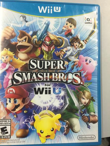 Jogo Super Smash Bros Americano Nintendo Wii U