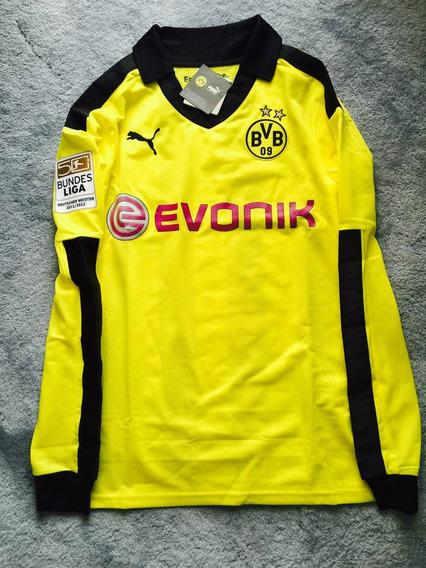 finest selection 369e6 f3fbb Jersey Borussia Dortmund Lewandowski en Mercado Libre México