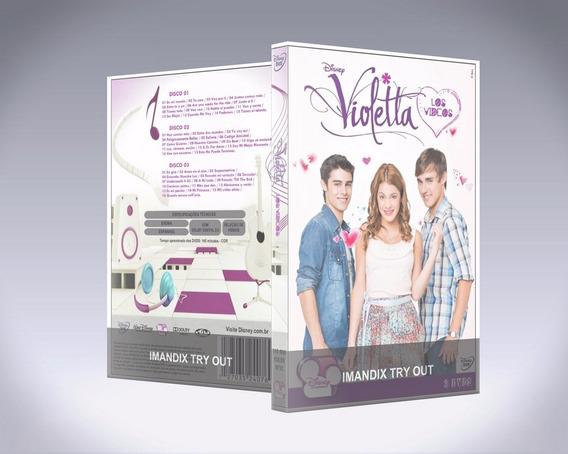 Dvd - Violetta: Los Videos [3 Discos]