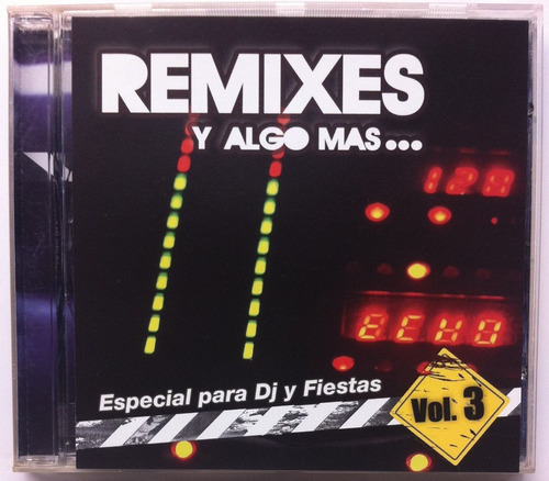Diveana Miguel Moly. Remixes Y Algo Más Vol. 3. Cd Original