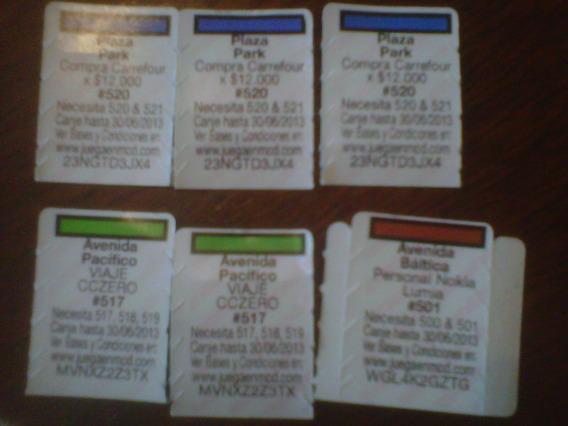 Monopoly Mcdonalds #518 #517 #517 #501 #520 #520 #520