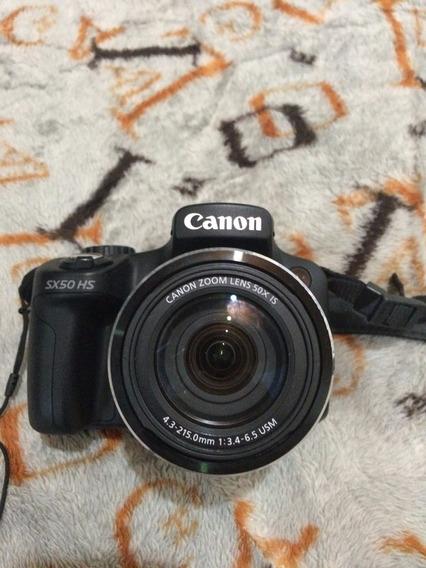 Camera Canon Sx50 Hs 50x Zoom 12.1 Mp
