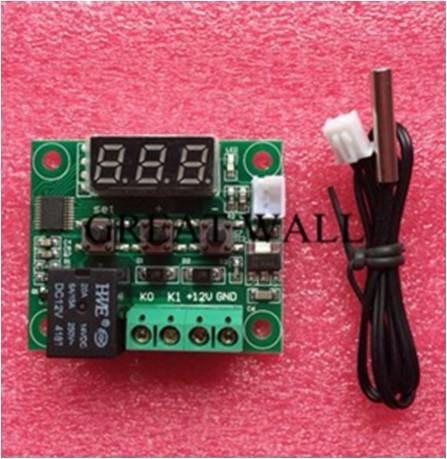 Placa Controlador Temperatura Dc12v Termostato Interruptor