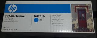 Cartucho Toner Hp - Original - Q 3961 -3962- 3963