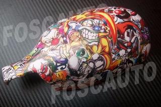 Adesivo Sticker Bomb Tuning Carro Moto 35cm X 23cm / Ref: 10