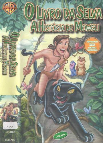 Vhs O Livro Da Selva A Historia De Mogli -
