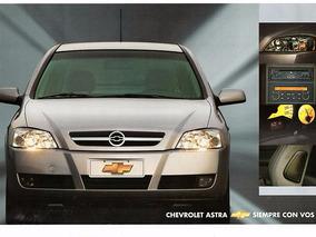 Folder Chevrolet Astra Argentina - 2003