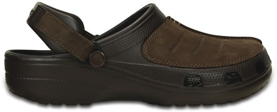 Zapato Crocs Caballero Yukon Mesa Clog Cafe
