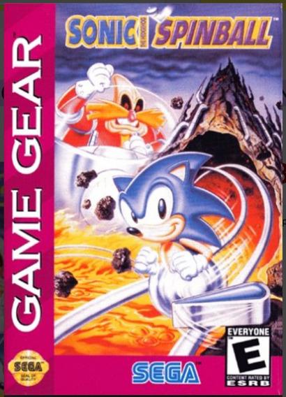 Sonic Spinball Jogo Game Gear Sega Original Na Caixa E Manua