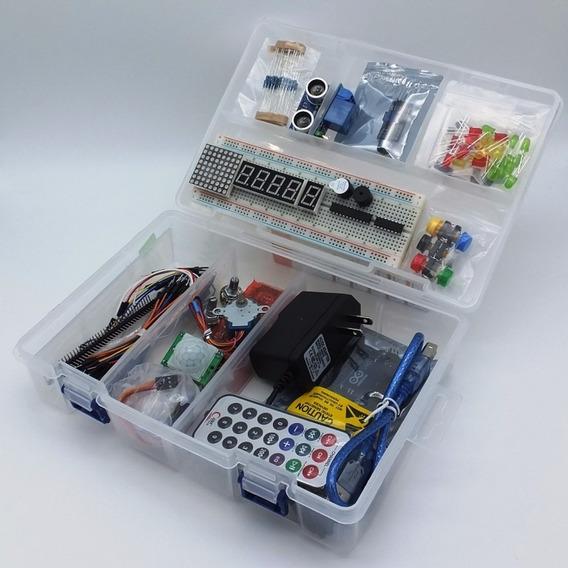 Arduino Starter Kit Uno O Mega Básico + Libros Principiantes