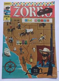 Zorro Em Cores Nº 50: Falcão Vermelho - Ebal -junho/ 1975