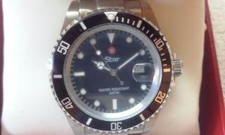 Reloj Star ( Japan-fabricado Por Citizen ) Submariner 3 Atm