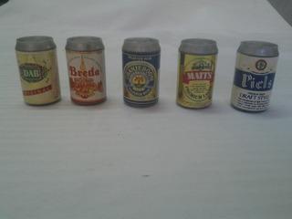 Latitas Miniatura De Coleccion - Lote De Cerveza Importada