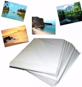 1000 Fls Papel Foto Glossy 120g/115g A4 Brilho Prova D
